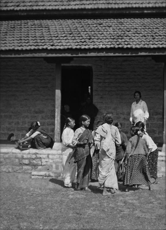 Kollatam Dance, Hospet, India, 1929