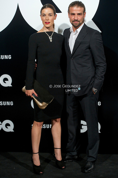Raquel Sanchez Silva and Mario Biondo attend 'GQ Men of the Year 2012' awards on November 19, 2012 in Madrid, Spain.