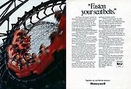 Honeywell Roller Coaster fasten Seat belts
