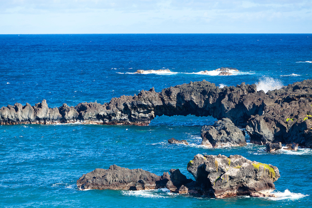 Maui, Hawaii. Waianapanapa State Park in Hana, Maui, HI.