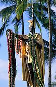 King Kamehameha Statue, Hilo, Island of Hawaii, Hawaii, USA<br />