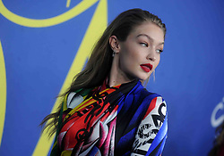 Gigi Hadid at the 2018 CFDA Awards at the Brooklyn Museum in New York City, NY, USA on June 4, 2018. Photo by Dennis Van Tine/ABACAPRESS.COM
