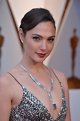 :Gal Gadot arrives to the 90th annual Academy Awards (Oscars) held at the Dolby Theatre in Los Angeles, CA, USA, on March 4, 2018. Photo by Lionel Hahn/ABACAPRESS.COM
