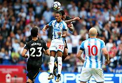 Huddersfield Town's Tom Ince challenges Newcastle United's Jacob Murphy - Mandatory by-line: Matt McNulty/JMP - 20/08/2017 - FOOTBALL - John Smith's Stadium - Huddesfield, England - Huddersfield Town v Newcastle United - Premier League