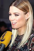 Dominique Rinderknecht anlässlich der Miss Schweiz Wahl 2018