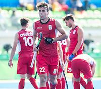 RIO DE JANEIRO  (Brazilië) - Simon Gougnard (Belg.) during the poulematch hockey men Belgium v Great Britain (4-1),   Olympic Games 2016 . Copyright Koen Suyk
