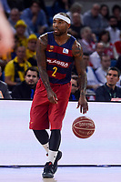 FCB Lassa's Tyrese Rice during Semi Finals match of 2017 King's Cup at Fernando Buesa Arena in Vitoria, Spain. February 18, 2017. (ALTERPHOTOS/BorjaB.Hojas)