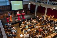 Nederland, Amsterdam, 20170513<br /> Debat It's the Food, Rode Hoed.<br /> Slotdebat<br /> <br /> Foto: (c) Michiel Wijnbergh