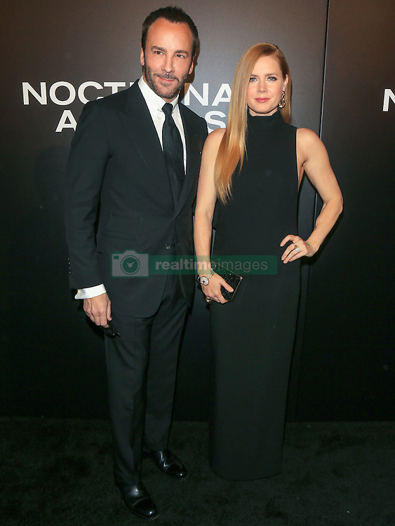 Celebrities are seen attending the special screening of Focus Features' 'Nocturnal Animals' at the Hammer Museum in Los Angeles. 11 Nov 2016 Pictured: Tom Ford, Amy Adams. Photo credit: Bauer Griffin / MEGA TheMegaAgency.com +1 888 505 6342