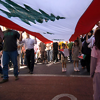 Protest against the israeli attack on Lebanon, Edinburgh, Scotland 12 July 2006<br />