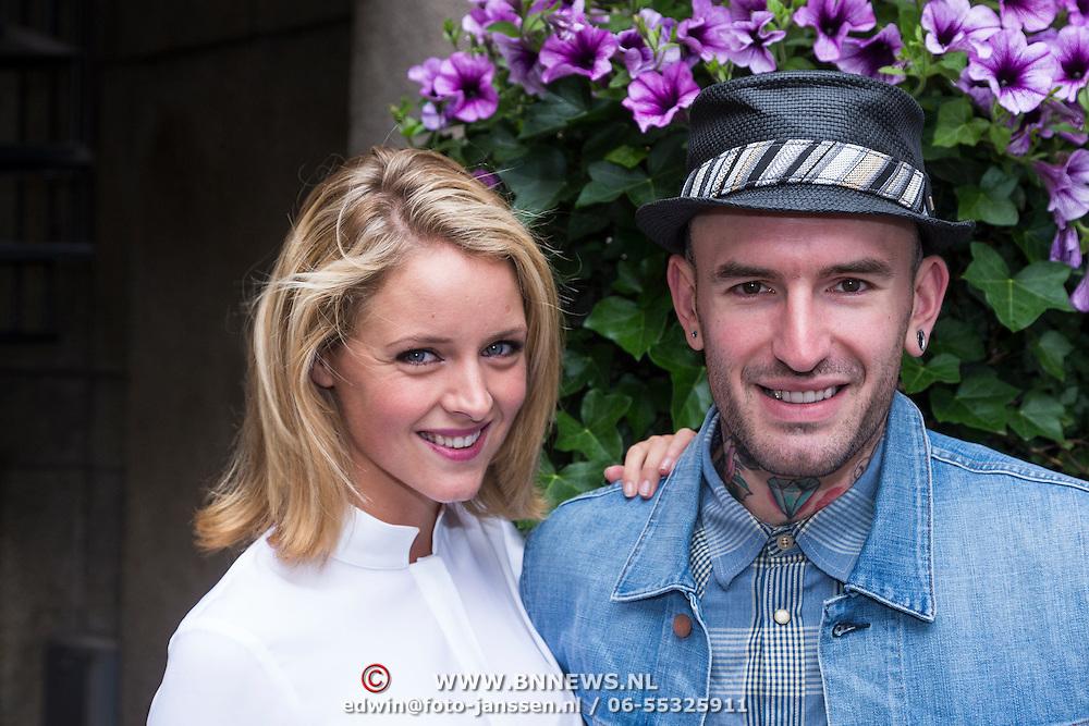NLD/Amsterdam/20130627 - Gift Suite 2013, Liza Sips en Ben Saunders