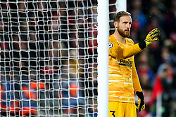 Jan Oblak of Atletico Madrid - Mandatory by-line: Robbie Stephenson/JMP - 11/03/2020 - FOOTBALL - Anfield - Liverpool, England - Liverpool v Atletico Madrid - UEFA Champions League Round of 16, 2nd Leg