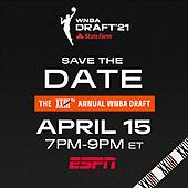 April 15, 2021 - USA: WNBA 2021 Draft
