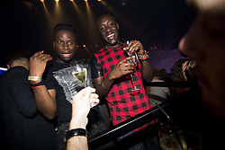 May 22, 2017 - Willebroek, BELGIUM - Illustration picture taken during a party in the Carre Discotheque after Belgian soccer team RSC Anderlecht won their 34th title, Sunday 21 May 2017 in Willebroek. BELGA PHOTO JASPER JACOBS (Credit Image: © Jasper Jacobs/Belga via ZUMA Press)