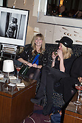 ALI HOWARD; GEMMA FISHER;, Cocktails with Marilyn, viewing of photographs of Marilyn Monroe by Bert Stern, Eve Arnold, Douglas Kirkland, and Frank Worth presented by Zebra One Gallery. The Langham, London.