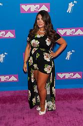 August 21, 2018 - New York City, New York, USA - 8/20/18.Deena Cortese at the 2018 MTV Video Music Awards at Radio City Music Hall in New York City. (Credit Image: © Starmax/Newscom via ZUMA Press)