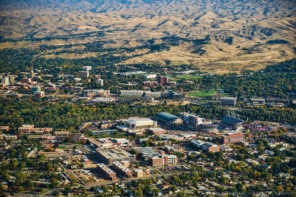 Boise State University (Aerial)