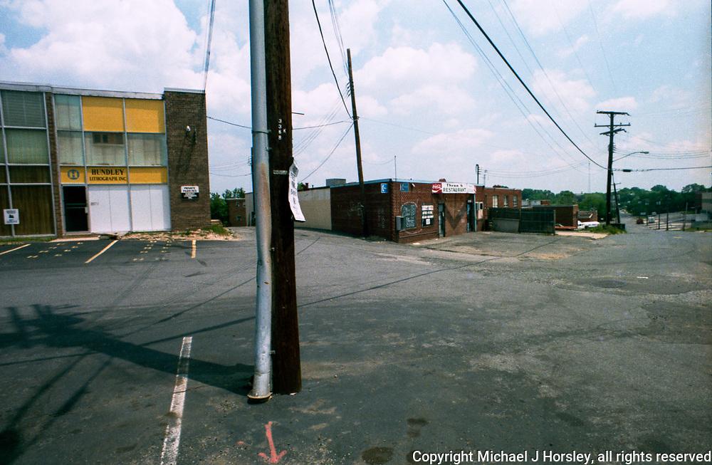 3rd street NE and Riggs Road? Washington DC 1986<br /> Hundley Lithograph
