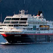 Three weeks aboard the Kong Harald. Hurtigruten, the Coastal Express. The Midnatsol.