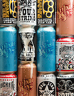 Canned beer from Sevneth Son, Four String and Elevator breweries.(Will Shilling/Crave)