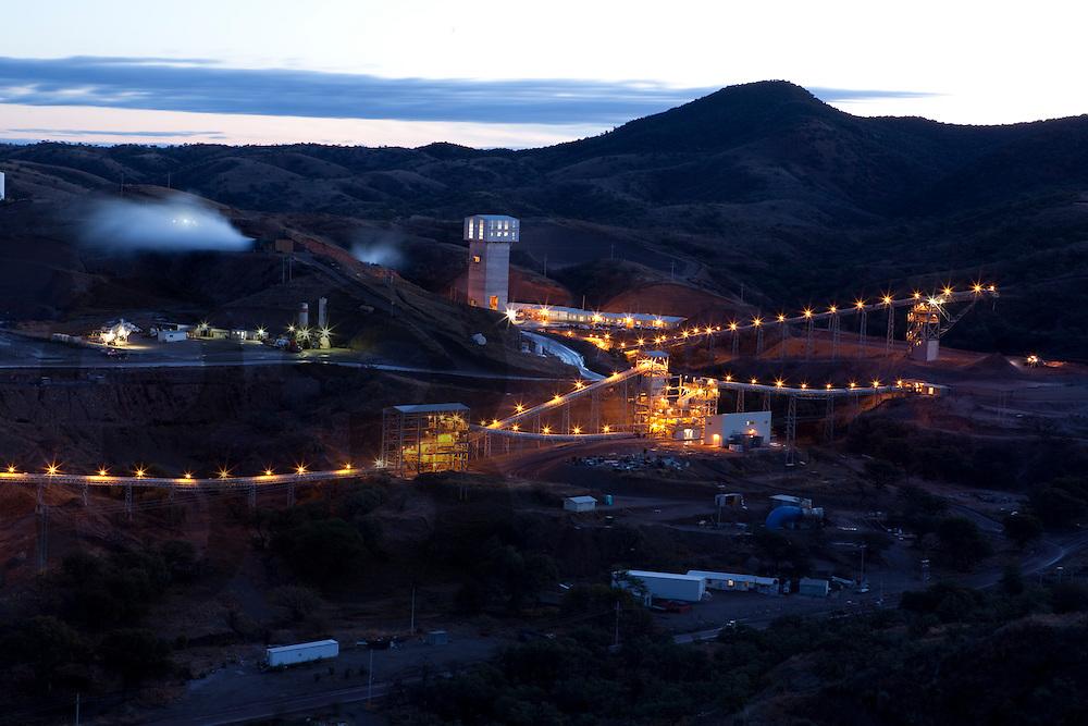 Unidad Milpillas de Peñoles. Municipio de Santa Cruz, Sonora, Mexico. Vistas panoramicas