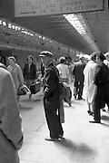 Man at Kingsbridge Station..19.07.1962