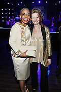 15 MAY-BROOKLYN, NEW YORK- (L-R) New York City Council Member/Majrity Council Leader Laurie Cumbo and Katy Clark, President, BAM attend the BAM Gala 2019 Inside held at the Brooklyn Expo Center on May 15, 2019 in the Green Point section of Brooklyn, New York City.  (Photo by Terrence Jennings/terrencejennings.com)