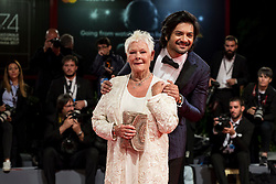 Judi Dench, Ali Fazal arriving to the premiere of Victoria & Abdul at the 74th Venice International Film Festival in Venice, Italy on September 3, 2017. Photo by Marco Piovanotto/ABACAPRESS.COM
