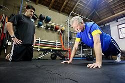 José Fortunati durante treino funcional de preparação física com o professor José Antonio Aranha. FOTO: Jefferson Bernardes/Preview.com