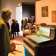 "Jason Moran, ""Slugs' Saloon"", gallery opening at the Institute of Contemporary Art, Boston"