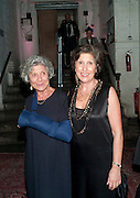 JOAN BURSTEIN; CAROLINE BURSTEIN, Browns Club Monaco launch. hosted by Lou Doillon, at the Schools of the Royal Academy of Art. Piccadilly, London. 19 February 2010.  .-DO NOT ARCHIVE-© Copyright Photograph by Dafydd Jones. 248 Clapham Rd. London SW9 0PZ. Tel 0207 820 0771. www.dafjones.com.