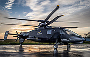 The Sikorsky S-97 Raider Helicopter photographed for Aviation Week