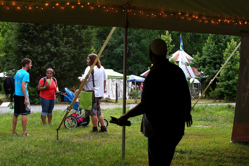 The Wild Goose Festival at Shakori Hills in North Carolina June 23, 2011.  (Photo by Courtney Perry)