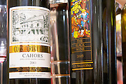Clos Triguedina and the cuvee The Black wine, Cahors, France Cahors Lot Valley France