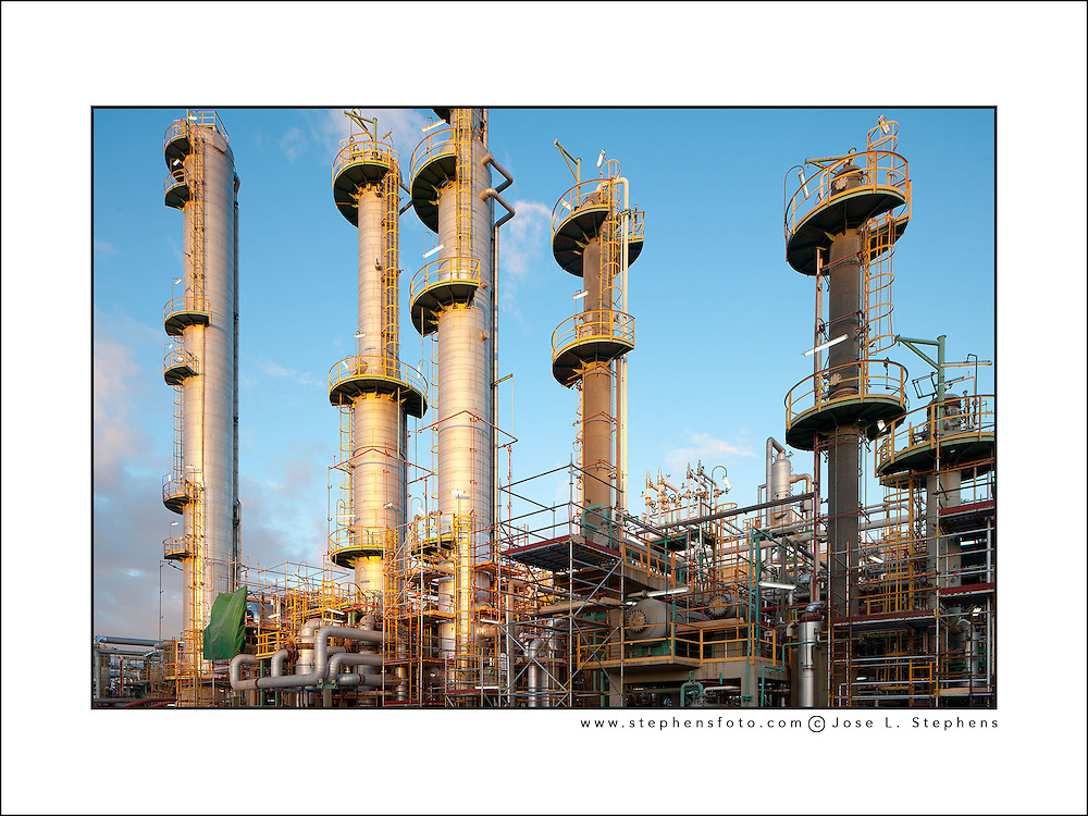 Industrial facility in Bahia Blanca, Argentina
