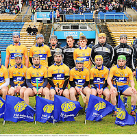 31 March 2013; The Clare team. Allianz Hurling League, Division 1A, Tipperary v Clare, Semple Stadium, Thurles, Co. Tipperary. Picture credit: Diarmuid Greene / SPORTSFILE