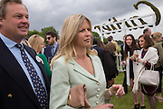 MARQUIS OF MILFORD HAVEN; MARCHIONESS OF MILFORD HAVEN;  Cartier Queen's Cup final at Guards Polo Club, Windsor Great Park. 16 June 2013