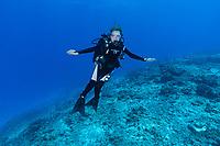 Sylvia Earle in Seychelles Reef