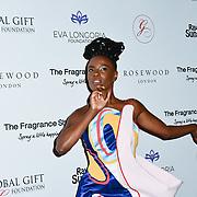 Shingai Shoniwa Arrivers at The Global Gift Gala red carpet - Eva Longoria hosts annual fundraiser in aid of Rays Of Sunshine, Eva Longoria Foundation and Global Gift Foundation on 2 November 2018 at The Rosewood Hotel, London, UK. Credit: Picture Capital