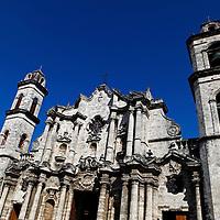 Central America, Cuba, Havana. Cathedral of Havana.