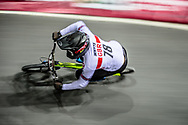 #78 (WHYTE Tre) GBR at Round 2 of the 2019 UCI BMX Supercross World Cup in Manchester, Great Britain