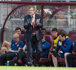 Heart of Midlothian manager Craig Levein during the Ladbrokes Scottish Premiership match at Tynecastle Stadium, Edinburgh.