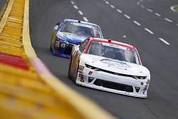 May 26, 2018 - Concord, North Carolina, United States of America - Vinnie Miller (01) brings his car through the turns during the Alsco 300 at Charlotte Motor Speedway in Concord, North Carolina. (Credit Image: © Chris Owens Asp Inc/ASP via ZUMA Wire)