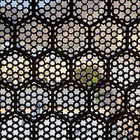 Asia, India, Amer. Lattice window screen at Amber Palace.
