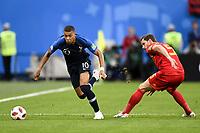 SOCCER : France vs Belgium - World Cup 2018 - 07/10/2018<br /> <br /> 10 KYLIAN MBAPPE (FRA) - 05 JAN VERTONGHEN (BEL)<br /> Norway only