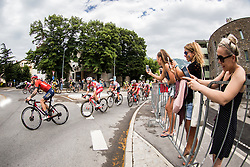 Grega Bole (SLO) of Bahrain - Merida during 4th Stage of 26th Tour of Slovenia 2019 cycling race between Nova Gorica and Ajdovscina (153,9 km), on June 22, 2019 in Slovenia. Photo by Vid Ponikvar / Sportida