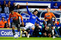 Jota of Birmingham City is fouled by Martin Olsson of Swansea City - Mandatory by-line: Robbie Stephenson/JMP - 17/08/2018 - FOOTBALL - St Andrew's Stadium - Birmingham, England - Birmingham City v Swansea City - Sky Bet Championship