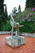 Public statue of mother and child, Dubrovnik, Croatia