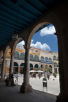 The stunning architecture of Habana Vieja Plaza
