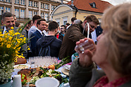 Wiec i piknik wyborczy Krzysztofa Bosaka w Białymstoku